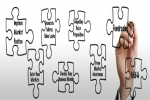 Grow your business puzzle
